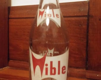 Wible Sparkling Beverage Glass Bottle