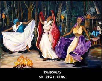 Tamboulay,  a Caribbean folk dance