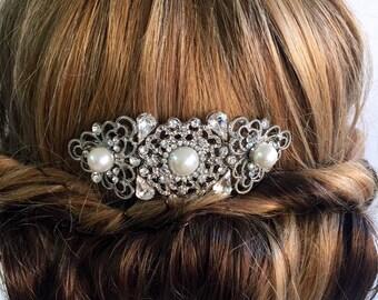 Bridal hair comb - vintage hair comb - Wedding hair comb - Vintage style hair comb - Wedding hair comb ,  Bridal hair accessories.