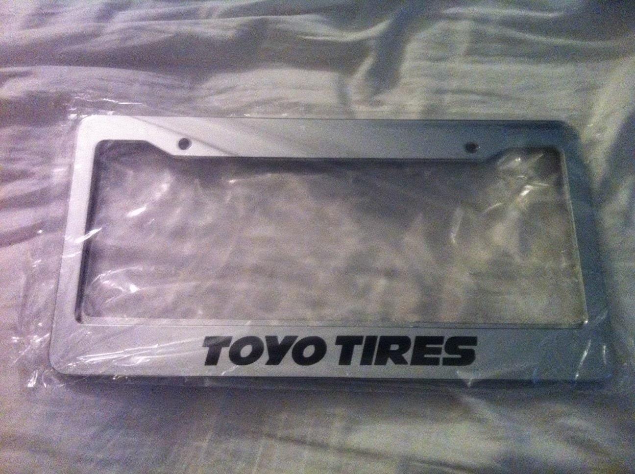 Toyo Tires Chrom Kfz Kennzeichenhalter Jdm Style Racing