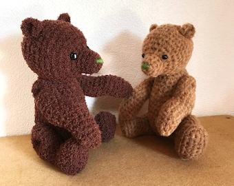 Teddy Bear 03 amigurumi pattern | crochet pattern PDF