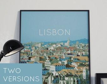 Lisbon, Portugal Poster 11x17 18x24 24x36