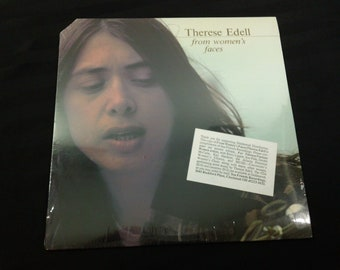 "Therese Edell - From Women's Faces - SF545001 - 12"" vinyl lp, album (Sea Friends Records,1977) 70s Folk music ~ Still Sealed"