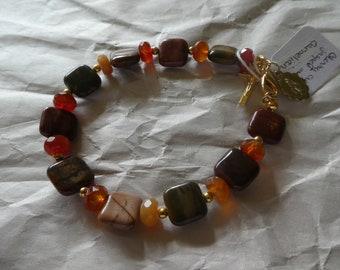 Carnelian Rosary Bracelet