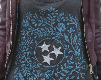 Tennessee Tri-star - Relaxed Tank
