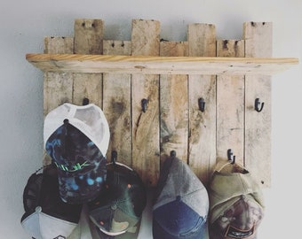 Rustic Hat Rack