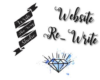 Website Rewrite - Writing Services - Write This Way Studio - Custom Writing - Writing Services - Business Services - Editing Services - SEO