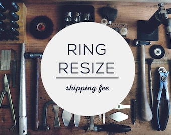 Shipping fee for Ring Resize