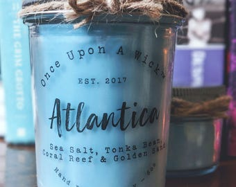 Atlantica | The Little Mermaid Inspired Bookish Soy Candle