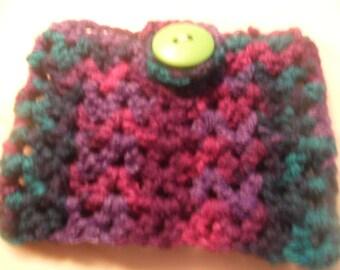 Small crocheted purse
