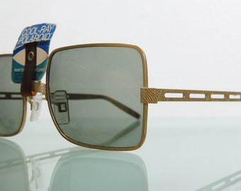 Vintage MCM Hollywood Regency Cool Ray Sunglasses Made in USA