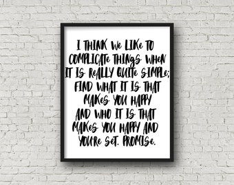 Happiness, Happiness Quotes, Positive, Positive Quotes, Motivational Poster, Inspirational Wall Art, Motivational Quotes, Wall Art Prints