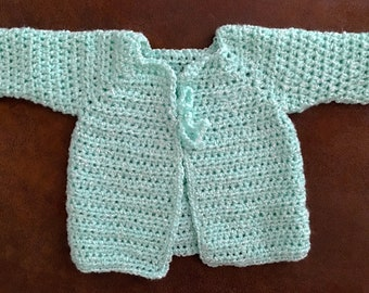Handmade Light Green Sweater