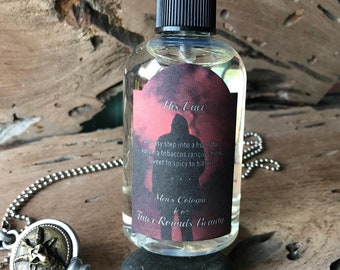 His Lair - Men's Cologne Vegan Perfume Collection - Witch Gothic Goth - All Natural Handmade