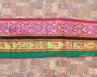 Vintage Mesa cloth,Genuine handwoven Peruvian Table Runner, Shaman mesa, Brown Manta, Home decoration, Vintage decoration, Ceremonial Rug