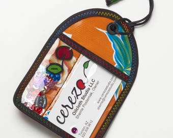 Tag Along (Luggage Tag) in assorted prints