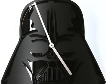 Clock style Darth Vader 3D