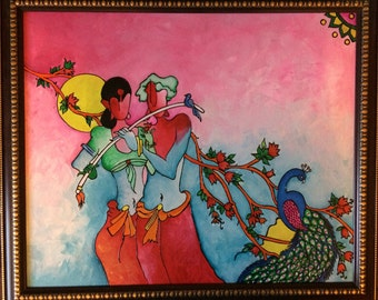 Eternal love  - Radha krishna painting