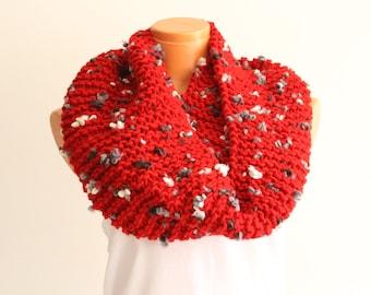 Lariat Scarf, Crochet Scarf, Knit Scarf, Crochet Jewelry, Boho Crochet Scarf, Mothers Day, Flower Garland