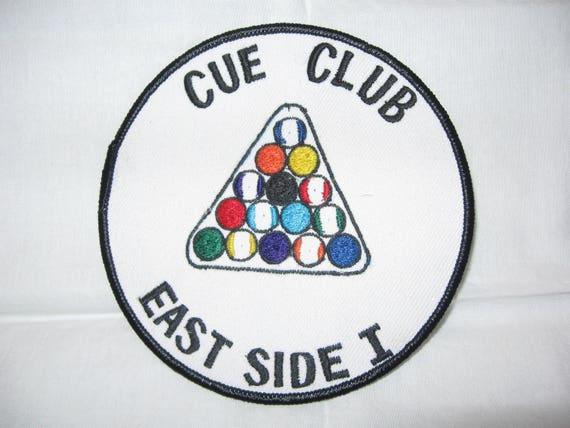 Cue Club East Side 1pool Teamntage Patchady