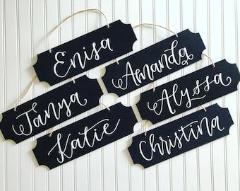 Chalkboard Name Sign - School - Classroom Decor - Office Decor - Office Name Sign - Chalkboard Sign - Teacher Gift - Teacher Name