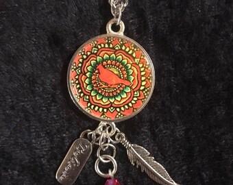 Cardinal Dangle Pendant