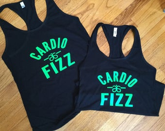 Cardio and Fizz Arbonne tank top
