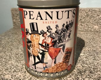 Planter's Peanuts Tin 1989