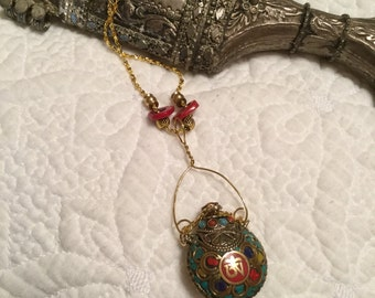 Kohl Container Necklace #351