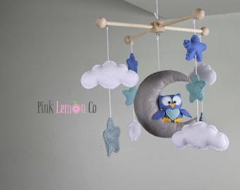 owl nursery mobile baby shower gift nursery decor baby mobile bebe baby mobile baby mobiles baby gift