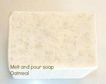 Oatmeal Melt and Pour Base