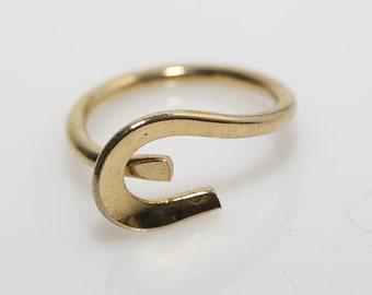 Modernist Curve Ring