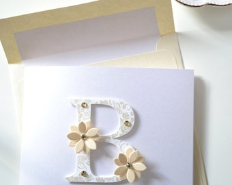 Bridal Shower Greeting Card: B is for Bride-to-be!