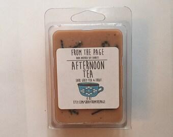Afternoon Tea Wax Tarts - 3 oz book inspired soy wax tarts