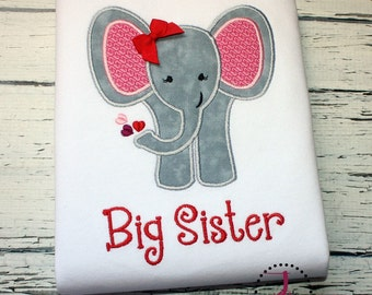 Big Sister Shirt - Big Sister Gift, Big Sister Dress, Big Sister Announcement, Sibling Outfits, Big Sister Little, Gender Reveal Party