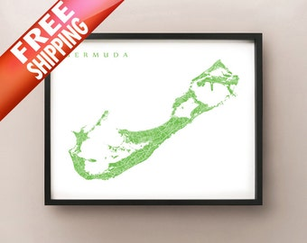 Bermuda Map