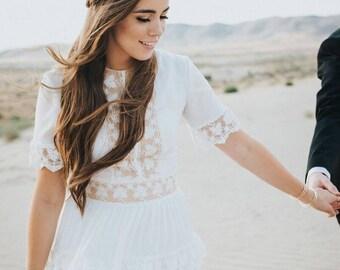 Dress FW 15-16 | Wedding dress Boho wedding dress Romantic Wedding Dress vintage wedding dress elegant wedding gown