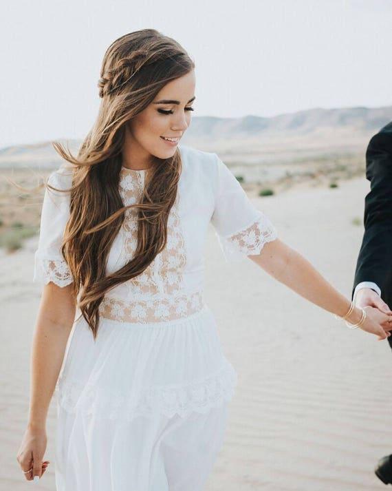 Kleid-FW 15-16 Hochzeitskleid Boho Hochzeit romantische