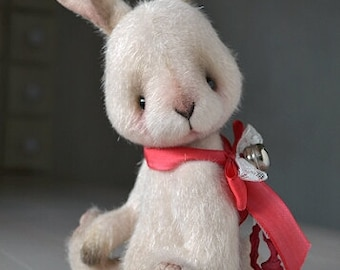 Easter bunny toy Easter bunny teddy artist bunny rabbit toy Stuffed animals toy plush bunny stuffed toy mohair teddy toy Teddy Bear artist