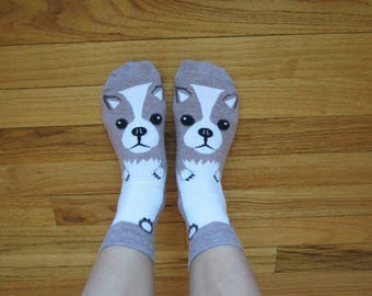 Personalized Loveable Chihuahua Socks