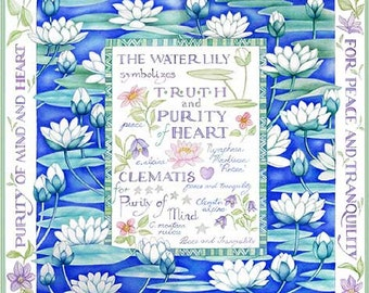 The Language of Flowers  Waterilly