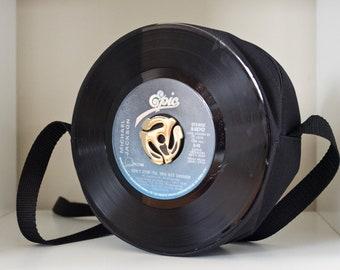 Michael Jackson Record Purse 45RPM Vinyl Record Purse