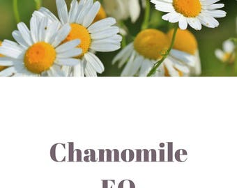 Chamomile essential oil QRDS
