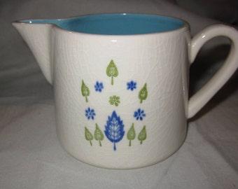 Vintage creamer- Mar-crest Swiss Chalet Pottery