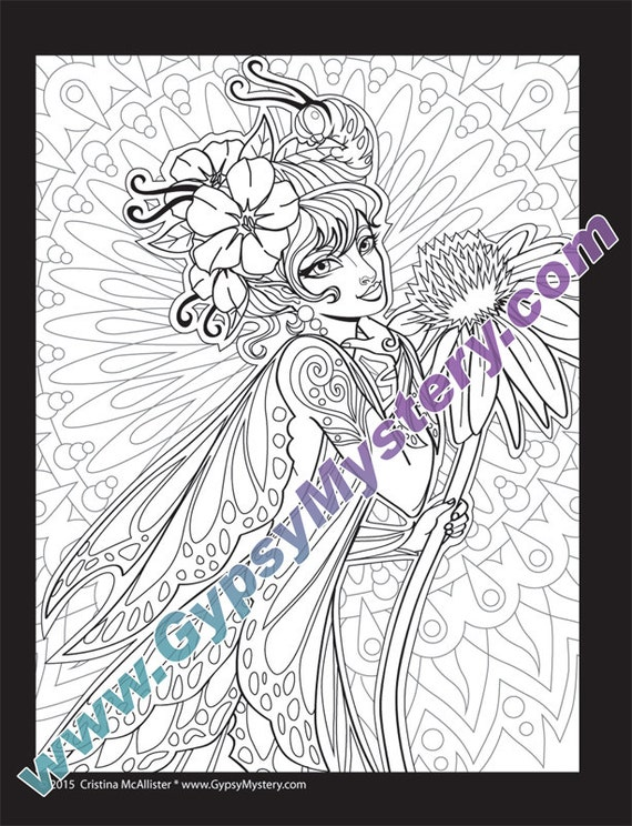 Single Coloring Page Social Butterfly From The Magical