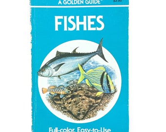 A Golden Guide- Fishes / Vintage Golden Nature Guide / Vintage Field Guide / Book on Fish / Homeschool Book / Biology Book