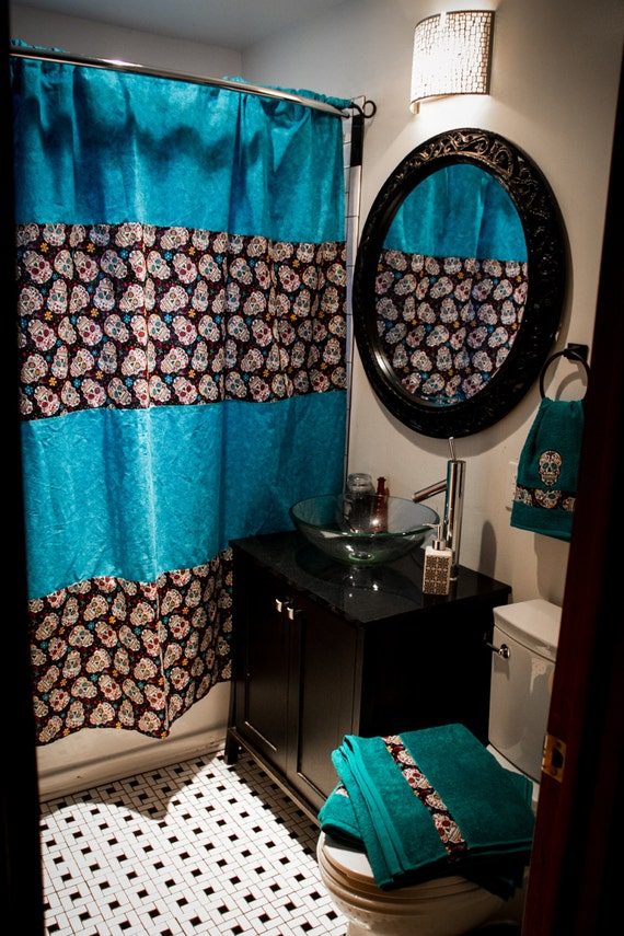 SALE Custom Bathroom Decor Shower Curtain Bath Towels Hand