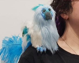shoulder bird puppet