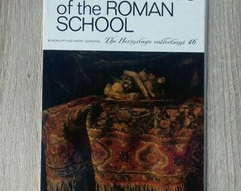 Paintings of the Roman school, vintage set of 16 postcards, vintage postcards lot, vintage painting, unused postcards, not signed postcards