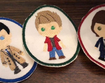Supernatural Character Iron On Patch